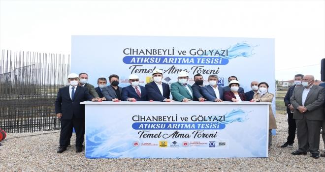 Konya'da Tuz Gölü'nün korunması için 4 yatırımın temeli atıldı