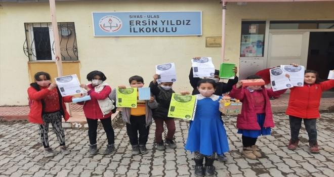 Köy okulunda e-Twinning projesi  başarılı etkinliklerle  tamamlandı
