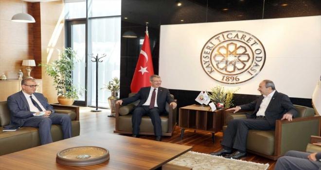 KTO Başkanı Gülsoy Kayseri Şeker'in halka açılma çalışmalarını değerlendirdi