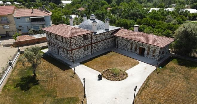 Sarıcakaya'daki 47 yıllık hamamın restorasyonu tamamlandı