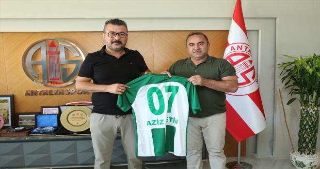 Serik Belediyespor yönetimi, yeni Antalyaspor Başkanı Aziz Çetin'i ziyaret etti