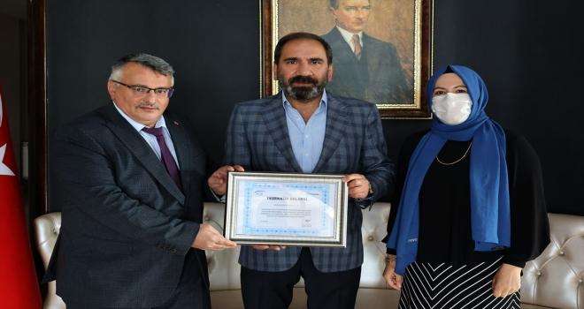 SGK'dan primlerini düzenli ödeyen Sivasspor'a teşekkür belgesi