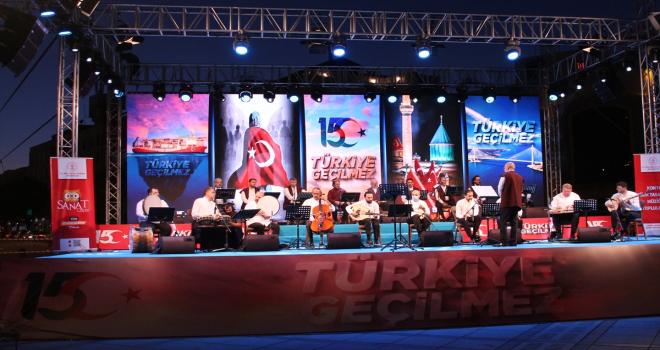 15 Temmuz Demokrasi ve Milli Birlik Günü anma etkinlikleri