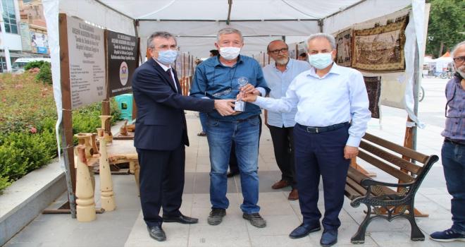 62. Uluslararası Nasreddin Hoca Şenlikleri kapsamında açılan sergiler dikkati çekiyor