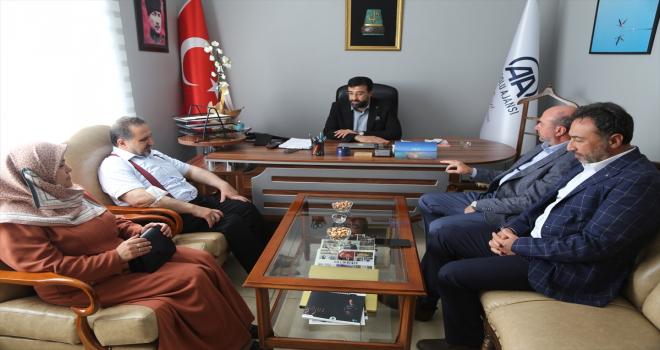AA Konya Bölge Müdürü Yerlikaya'ya