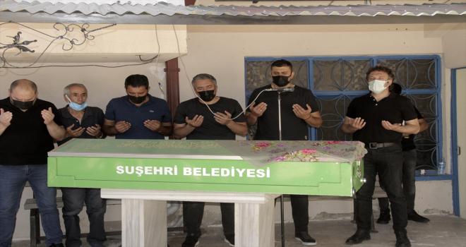 AK Parti Sivas İl Başkan Yardımcısı Rüstem Yüce'nin acı günü