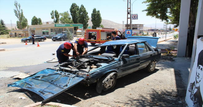 AK Parti Yunak İlçe Gençlik Kolları Başkanı trafik kazası geçirdi
