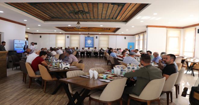 AK Partinin mahalle başkanları toplantısı Akseki'de yapıldı