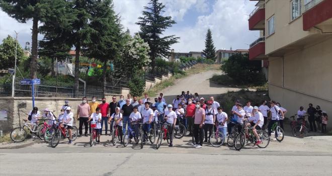 Akyurt Genç Memur-Sen bisiklet turu düzenledi