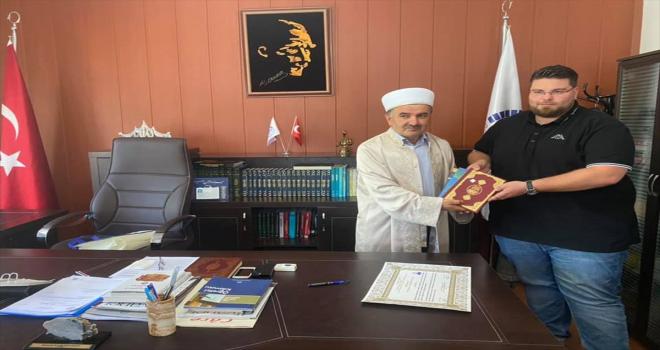 Almanya vatandaşı Bierstedt, Ürgüp'te Müslüman oldu