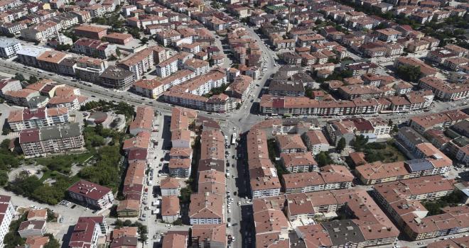 Ankara'da helikopterle trafik denetimi yapıldı