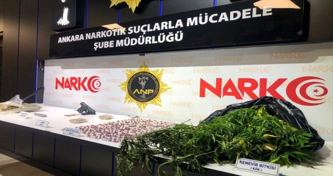 Ankara'daki kaçakçılık operasyonlarında 17 şüpheli yakalandı