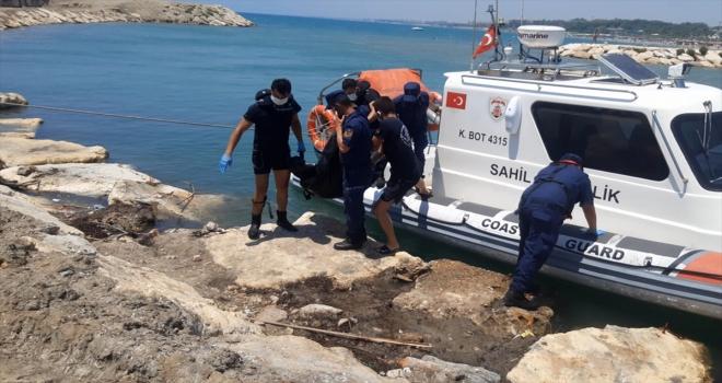 Antalya'da denizde kaybolan 15 yaşındaki çocuğun cesedine ulaşıldı