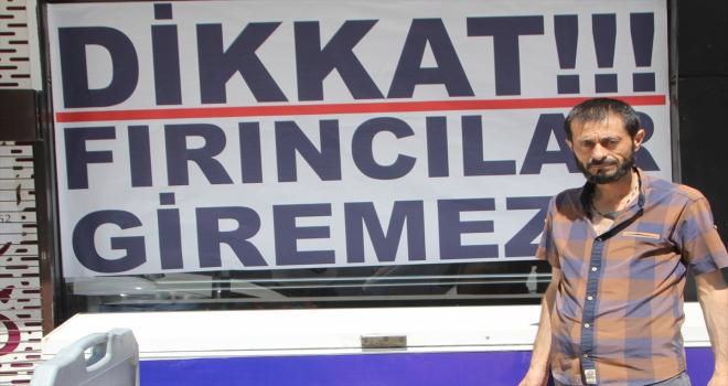Antalya'da zam talep eden meslektaşlarına kızan fırıncı, ekmeği 1,5 liradan satışa sundu