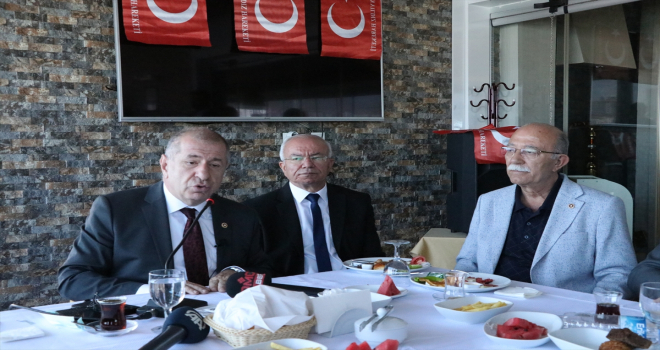 Bağımsız İstanbul Milletvekili Özdağ'dan Bolu Belediye Başkanı Özcan'a destek:
