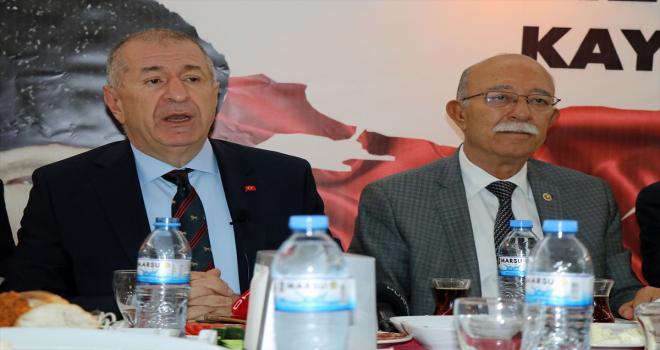 Bağımsız İstanbul Milletvekili Ümit Özdağ, Kayseri'de temaslarda bulundu: