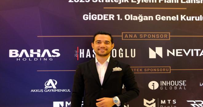 Bahaş Holding CEO'su Bahadır, GİGDER Başkan Yardımcılığı'na seçildi