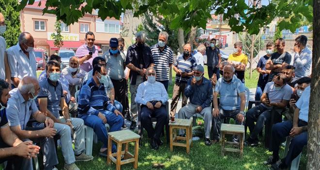 Başkan Memduh Büyükkılıç, Başakpınar Mahallesi'nde vatandaşlarla bir araya geldi
