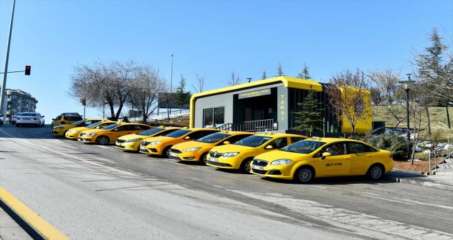 Başkente yeni model taksi durakları geliyor