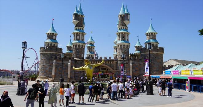 Bayram tatili İSFANBUL Tema Park'ta şölene dönüşecek
