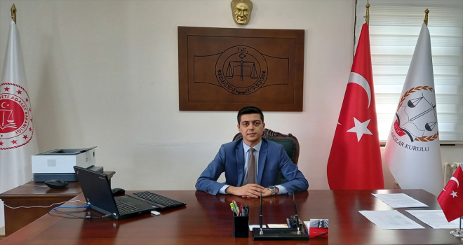 Beypazarı Cumhuriyet Başsavcılığına atanan Mustafa Büyükbaş, göreve başladı