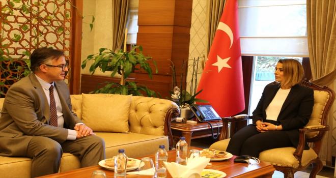Büyükelçi Tinca, Vali Becel'i ziyaret etti