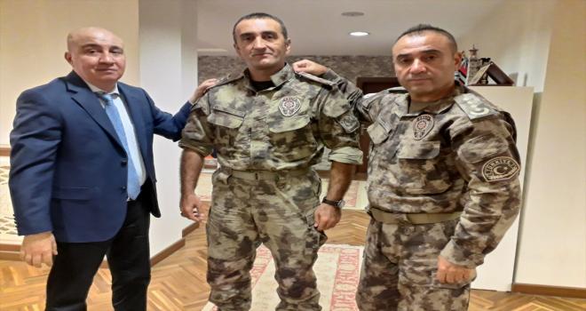 Cumhurbaşkanı Başdanışmanı Aslan, darbe girişiminde kendisini kurtaran özel harekatçıları ziyaret etti