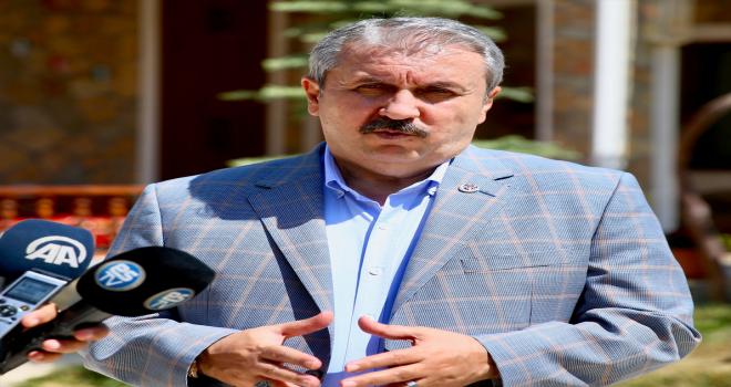 Cumhurbaşkanı Erdoğan'ın KKTC ziyaretine katılan BBP Genel Başkanı Destici'den değerlendirme: