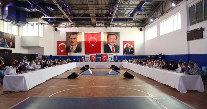 Cumhurbaşkanı Erdoğan, Manavgat'ta orman yangınlarıyla ilgili açıklamalarda bulundu: (1)