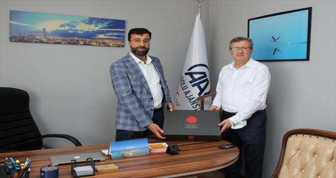 Cumhurbaşkanlığı İletişim Başkanlığı Konya Bölge Müdürü Karabulut'tan AA'ya ziyaret