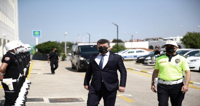 Emniyet Müdürleri Kararnamesi ile Eskişehir'e atanan Yaman Ağırlar görevine başladı