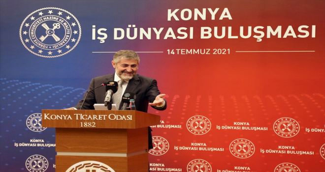 Hazine ve Maliye Bakan Yardımcısı Nebati, Konya'da İş Dünyası Buluşması'nda konuştu: