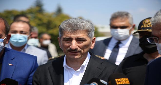 İçişleri Bakan Yardımcısı İnce, Eskişehir'de trafik denetimine katıldı: