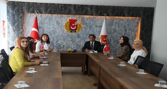 KADEM'den Kayseri Gazeteciler Cemiyetine ziyaret