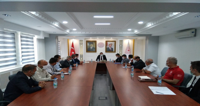 Karaman'da 15 Temmuz Şehitleri Anma, Demokrasi ve Milli Birlik Günü Hazırlık ve Koordinasyon toplantısı