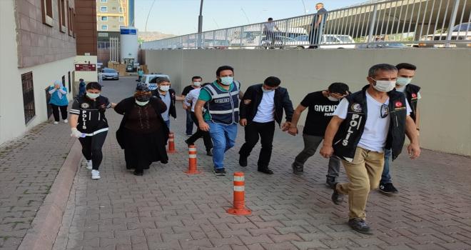 Kayseri'de düzenlenen uyuşturucu operasyonunda 2 zanlı tutuklandı