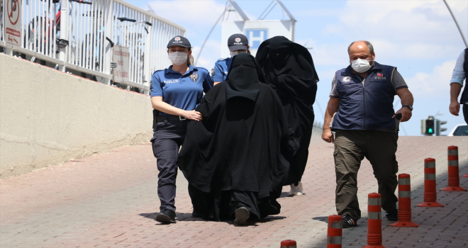 Kayseri'deki DEAŞ operasyonunda yakalanan 2 zanlı tutuklandı