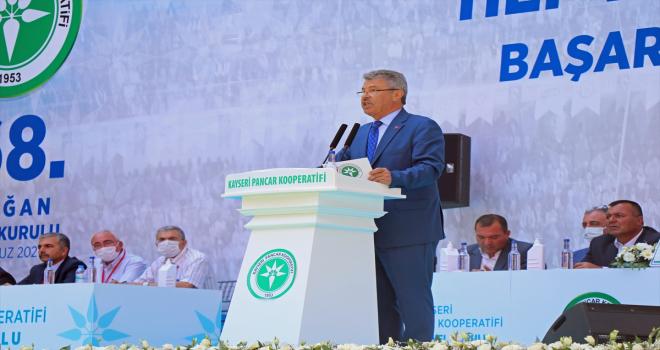 Kayseri Pancar Ekicileri Kooperatifi Yönetim Kurulu Başkanı Akay güven tazeledi