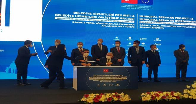 Kayseri'ye 288 milyon liralık destek için imzalar atıldı