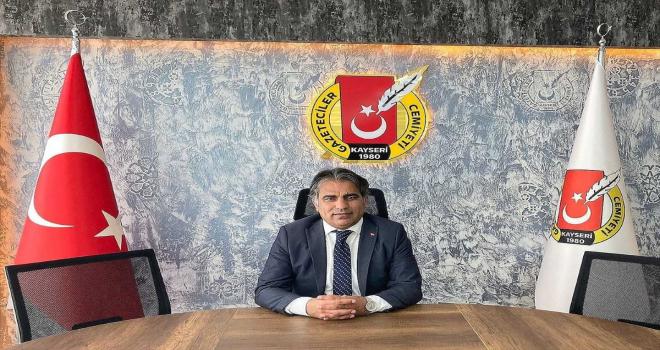 KGC Başkanı Kösedağ'dan 15 Temmuz Demokrasi ve Milli Birlik Günü mesajı