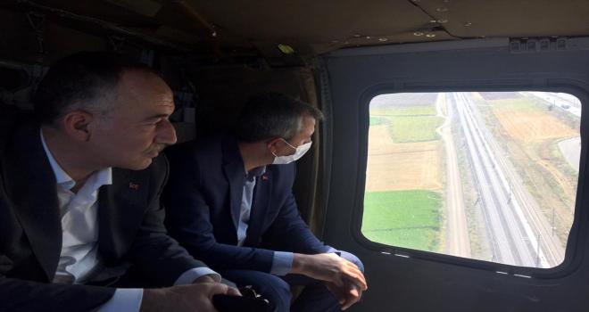 Kırıkkale'de helikopter destekli trafik denetimi yapıldı