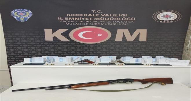 Kırıkkale'de tefecilik operasyonunda baba ve 2 oğlu gözaltına alındı