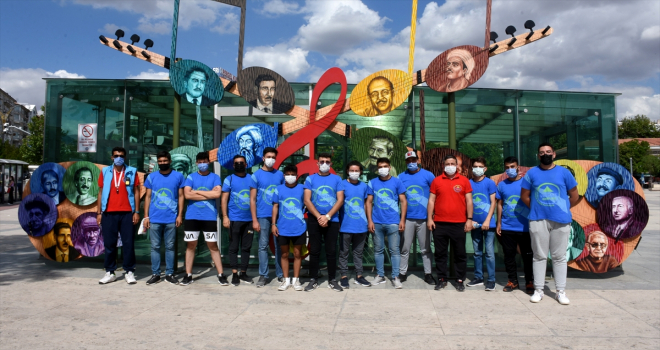 Kırşehir Ahi Evran Kampı, normalleşme döneminde Türkiye'nin her yerinden gençleri ağırlıyor