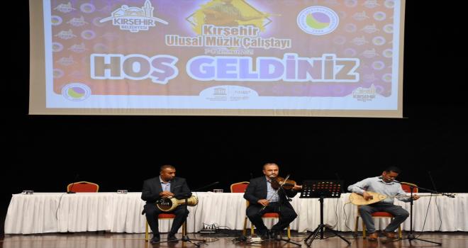 Kırşehir'de Ulusal Müzik Çalıştayı'nda Abdal müzik kültürü değerlendirildi