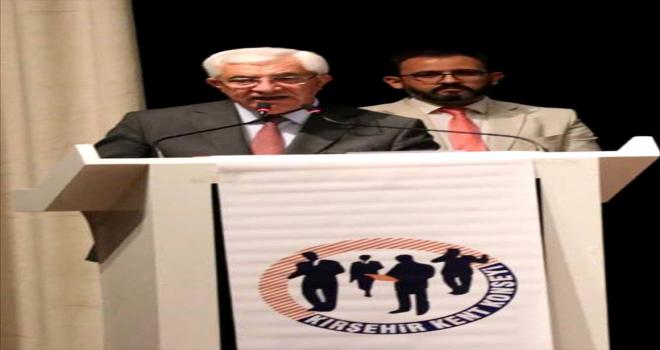 Kırşehir Kent Konseyi Başkanı Tahsin Üçgül, güven tazeledi