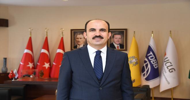 Konya Büyükşehir Belediye Başkanı Altay'ın Kurban Bayramı mesajı