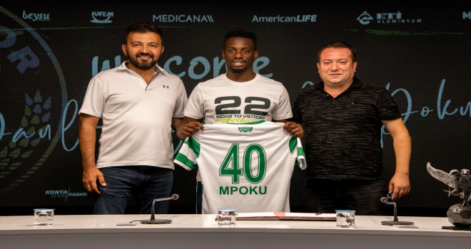 Konyaspor, Demokratik Kongolu milli futbolcu Mpoku'yu transfer etti