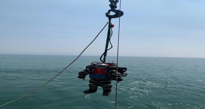 Kurtarma ve Sualtı Komutanlığı dalgıcı 335 metre derinliğe dalış yaptı