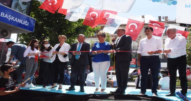 Memleket Partisi Genel Başkanı İnce, Kırşehir'de partisinin il ve merkez ilçe binasını açtı