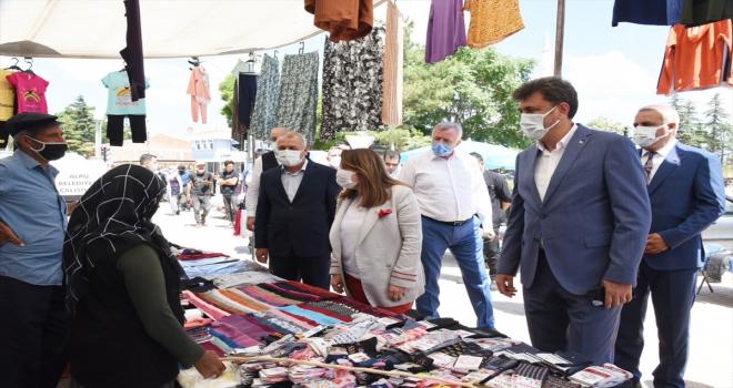 Milletvekili Emine Nur Günay, Alpu ilçesini ziyaret etti